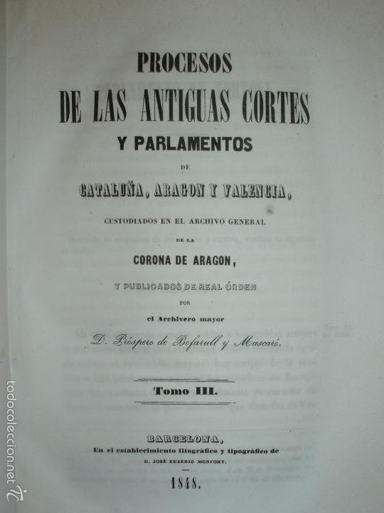 Libros antiguos: COMPROMISO DE CASPE. POR EL ARCHIVERO MAYOR D. PRÓSPERO DE BOFARULL Y MASCARÓ. 1º EDICIÓN 1847 - Foto 23 - 58596315