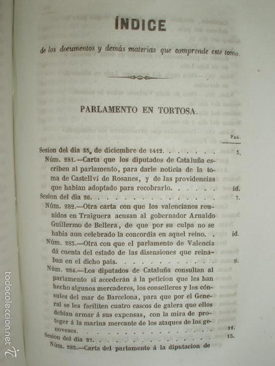 Libros antiguos: COMPROMISO DE CASPE. POR EL ARCHIVERO MAYOR D. PRÓSPERO DE BOFARULL Y MASCARÓ. 1º EDICIÓN 1847 - Foto 24 - 58596315