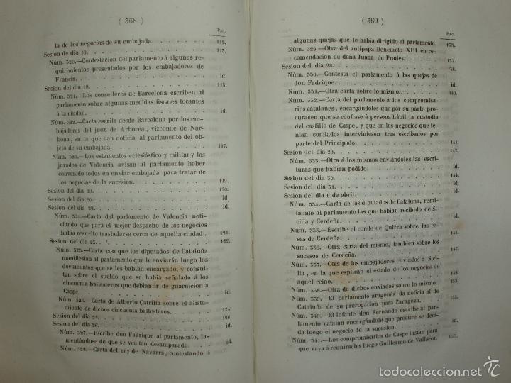 Libros antiguos: COMPROMISO DE CASPE. POR EL ARCHIVERO MAYOR D. PRÓSPERO DE BOFARULL Y MASCARÓ. 1º EDICIÓN 1847 - Foto 27 - 58596315