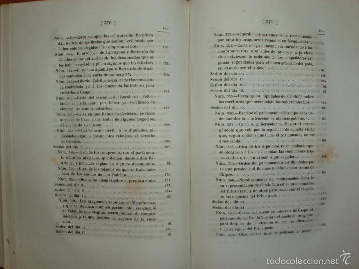 Libros antiguos: COMPROMISO DE CASPE. POR EL ARCHIVERO MAYOR D. PRÓSPERO DE BOFARULL Y MASCARÓ. 1º EDICIÓN 1847 - Foto 28 - 58596315