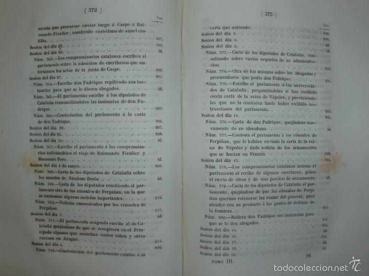 Libros antiguos: COMPROMISO DE CASPE. POR EL ARCHIVERO MAYOR D. PRÓSPERO DE BOFARULL Y MASCARÓ. 1º EDICIÓN 1847 - Foto 29 - 58596315