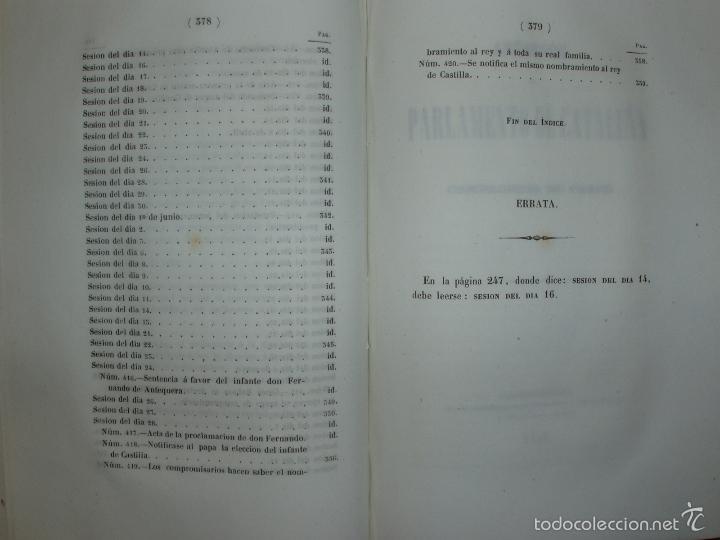 Libros antiguos: COMPROMISO DE CASPE. POR EL ARCHIVERO MAYOR D. PRÓSPERO DE BOFARULL Y MASCARÓ. 1º EDICIÓN 1847 - Foto 32 - 58596315