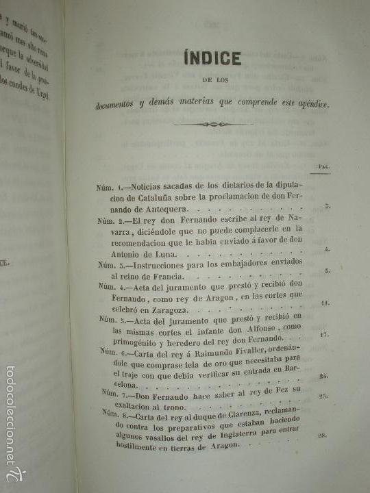 Libros antiguos: COMPROMISO DE CASPE. POR EL ARCHIVERO MAYOR D. PRÓSPERO DE BOFARULL Y MASCARÓ. 1º EDICIÓN 1847 - Foto 34 - 58596315