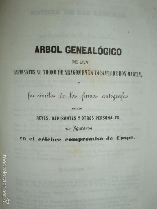 Libros antiguos: COMPROMISO DE CASPE. POR EL ARCHIVERO MAYOR D. PRÓSPERO DE BOFARULL Y MASCARÓ. 1º EDICIÓN 1847 - Foto 36 - 58596315