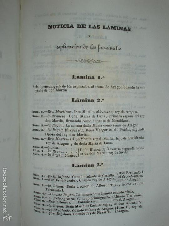 Libros antiguos: COMPROMISO DE CASPE. POR EL ARCHIVERO MAYOR D. PRÓSPERO DE BOFARULL Y MASCARÓ. 1º EDICIÓN 1847 - Foto 37 - 58596315