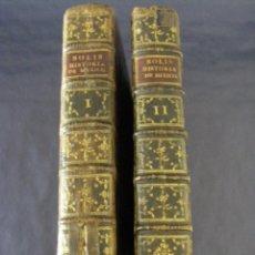 Libros antiguos: HISTORIA DE LA CONQUISTA DE MÉXICO ANTONIO SOLIS EDICIÓN ESPECIAL IMPRENTA SANCHA 1783 SIGLO XVIII. Lote 58740766