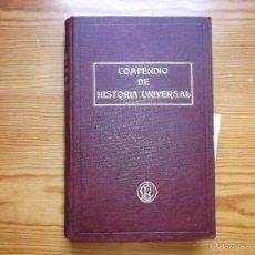 Libros antiguos: COMPENDIO DE HISTORIA UNIVERSAL POR EL P. JOSE MUNDO, S.J. 1914 Y RUIZ AMADO, S.J. 1915. Lote 59197575