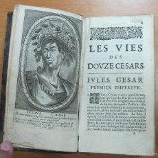 Libros antiguos: HISTORIA DE LOS EMPERADORES ROMANOS,1670. SUETONIO. POSEE 6 GRABADOS.. Lote 60056927