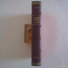 Libros antiguos: JOAQUIN PLA CARGOL. GERONA HISTORICA. ILUSTRADA CON GRABADOS Y PLANOS.1940. FOLIO. Lote 60346739