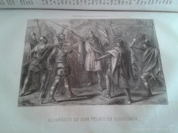 Libros antiguos: HISTORIA GENERAL DE ESPAÑA Y DE SUS INDIAS. LIBRO OBRA DE VICTOR GEBHARDT, TOMO SEGUNDO (1865) - Foto 7 - 60372171