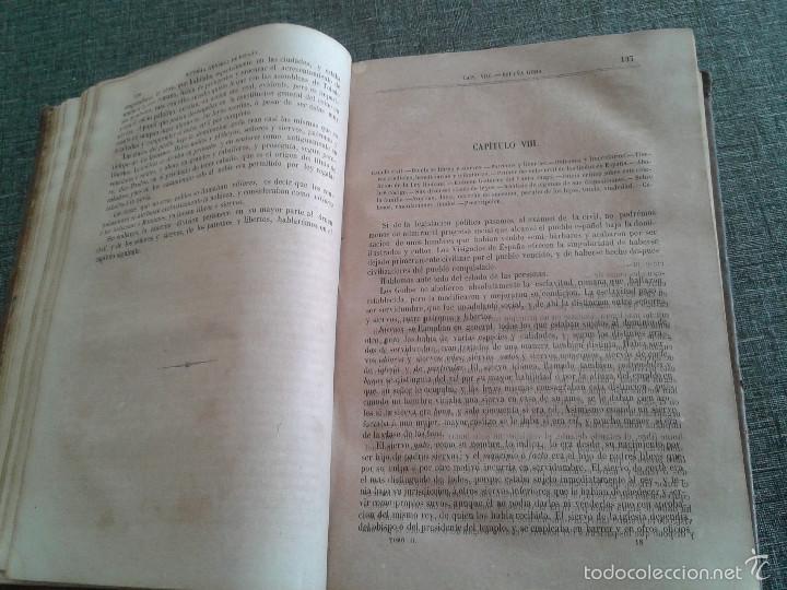 Libros antiguos: HISTORIA GENERAL DE ESPAÑA Y DE SUS INDIAS. LIBRO OBRA DE VICTOR GEBHARDT, TOMO SEGUNDO (1865) - Foto 13 - 60372171