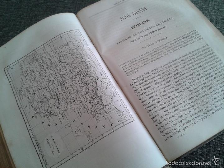 Libros antiguos: HISTORIA GENERAL DE ESPAÑA Y DE SUS INDIAS. LIBRO OBRA DE VICTOR GEBHARDT, TOMO SEGUNDO (1865) - Foto 14 - 60372171