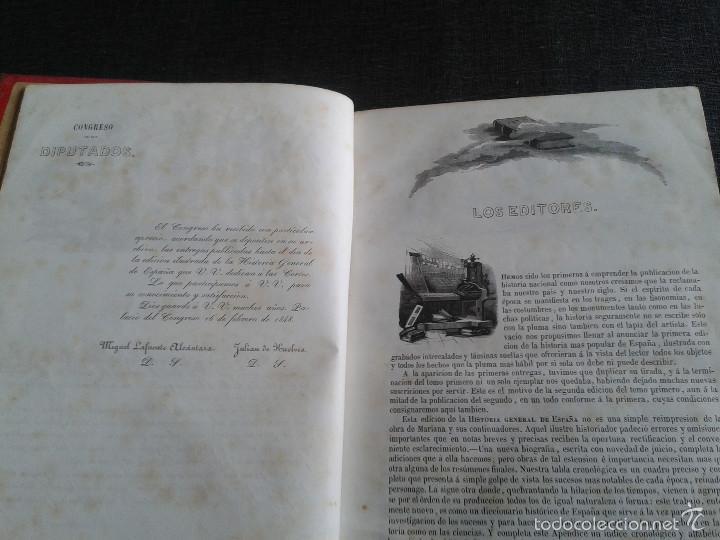 Libros antiguos: HISTORIA GENERAL DE ESPAÑA (1849) - LIBRO AMPLIAMENTE ILUSTRADO - TOMO I - Foto 4 - 60460539