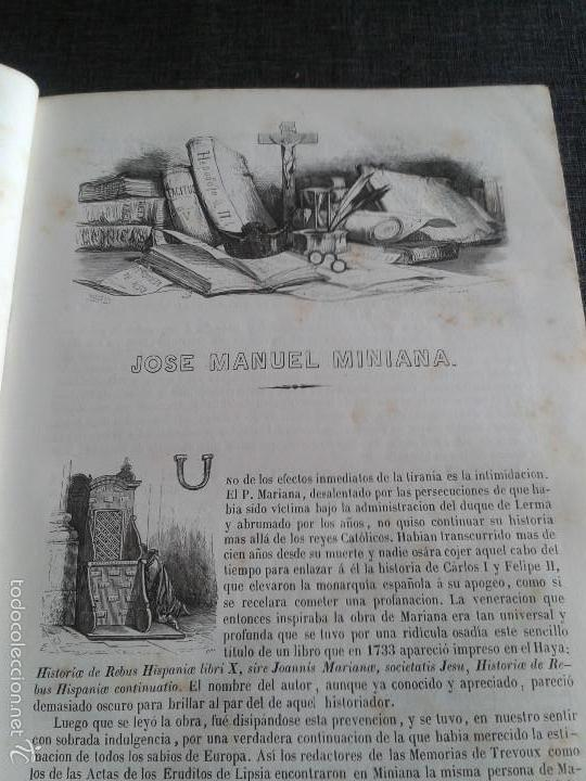 Libros antiguos: HISTORIA GENERAL DE ESPAÑA (1849) - LIBRO AMPLIAMENTE ILUSTRADO - TOMO I - Foto 5 - 60460539