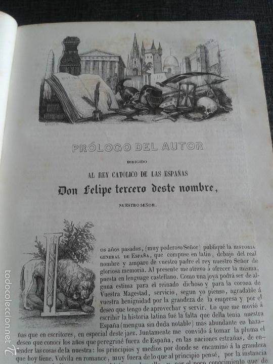Libros antiguos: HISTORIA GENERAL DE ESPAÑA (1849) - LIBRO AMPLIAMENTE ILUSTRADO - TOMO I - Foto 6 - 60460539