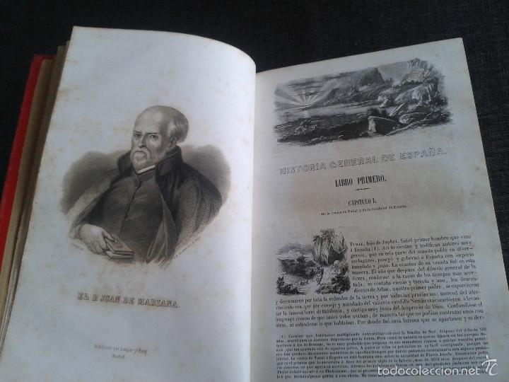 Libros antiguos: HISTORIA GENERAL DE ESPAÑA (1849) - LIBRO AMPLIAMENTE ILUSTRADO - TOMO I - Foto 7 - 60460539