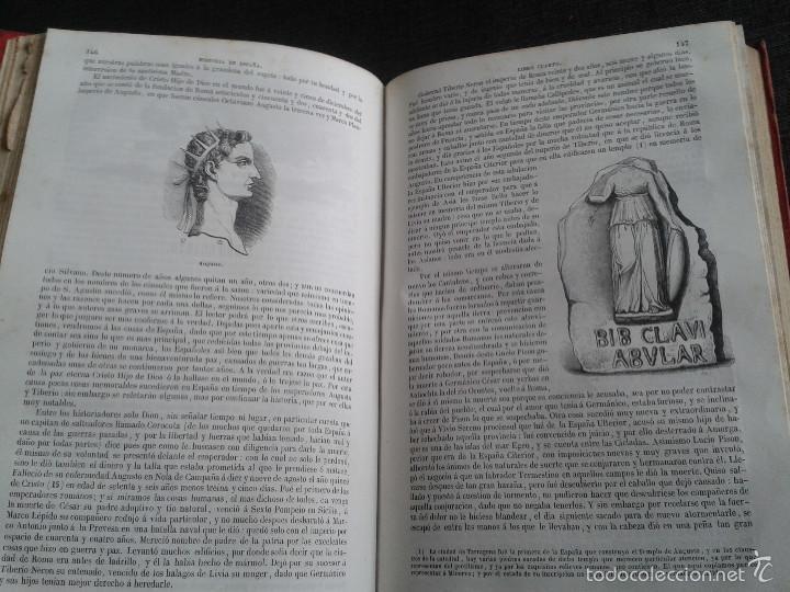 Libros antiguos: HISTORIA GENERAL DE ESPAÑA (1849) - LIBRO AMPLIAMENTE ILUSTRADO - TOMO I - Foto 11 - 60460539