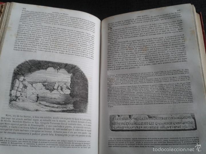 Libros antiguos: HISTORIA GENERAL DE ESPAÑA (1849) - LIBRO AMPLIAMENTE ILUSTRADO - TOMO I - Foto 13 - 60460539