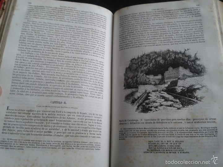 Libros antiguos: HISTORIA GENERAL DE ESPAÑA (1849) - LIBRO AMPLIAMENTE ILUSTRADO - TOMO I - Foto 14 - 60460539