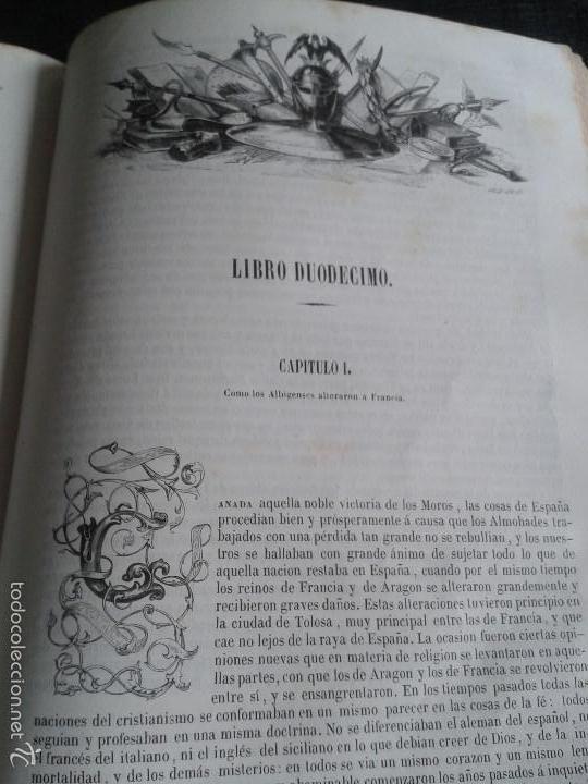 Libros antiguos: HISTORIA GENERAL DE ESPAÑA (1849) - LIBRO AMPLIAMENTE ILUSTRADO - TOMO I - Foto 17 - 60460539