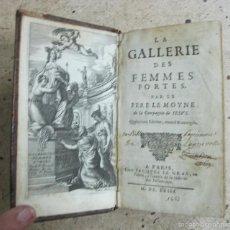 Libros antiguos: LA GALLERIE DES FEMMES FORTES, 1663. LE MOYNE. POSEE 20 GRABADOS. Lote 60847271
