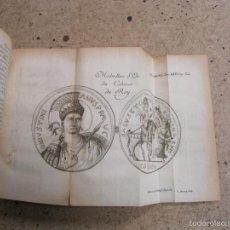 Libros antiguos: MEMOIRES DE LITTERATURE...., 1771. TOMO 45. BIEN ILUSTRADO CON GRABADOS DESPLEGABLES.. Lote 61274699