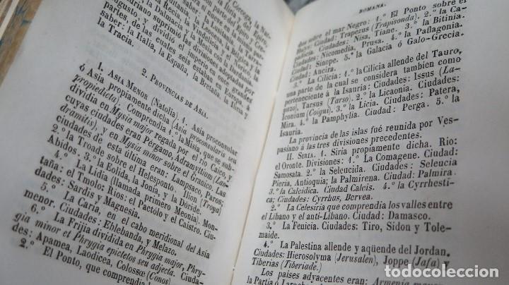 Libros antiguos: 1844.- MANUAL DE HISTORIA ROMANA. DESDE SU FUNDACION ROMANA HASTA LA CAIDA DEL IMPERIO DE OCCIDENTE - Foto 4 - 61692828