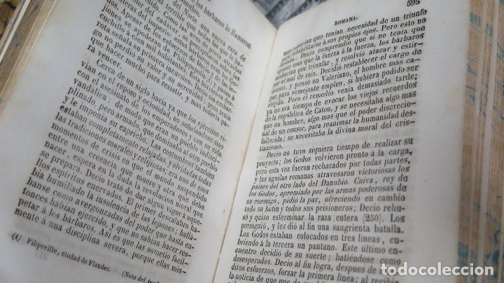 Libros antiguos: 1844.- MANUAL DE HISTORIA ROMANA. DESDE SU FUNDACION ROMANA HASTA LA CAIDA DEL IMPERIO DE OCCIDENTE - Foto 5 - 61692828