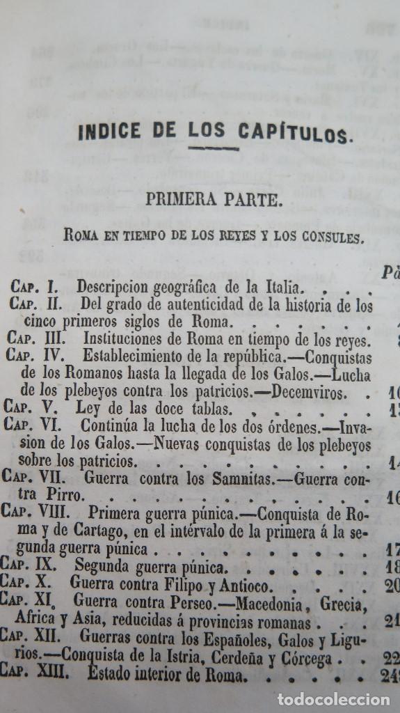 Libros antiguos: 1844.- MANUAL DE HISTORIA ROMANA. DESDE SU FUNDACION ROMANA HASTA LA CAIDA DEL IMPERIO DE OCCIDENTE - Foto 6 - 61692828