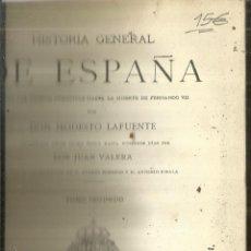 Libros antiguos: HISTORIA GENERAL DE ESPAÑA. TOMO 2. MODESTO LAFUENTE. MONTANER Y SIMÓN EDITORES. BARCELONA. 1887. Lote 61714468