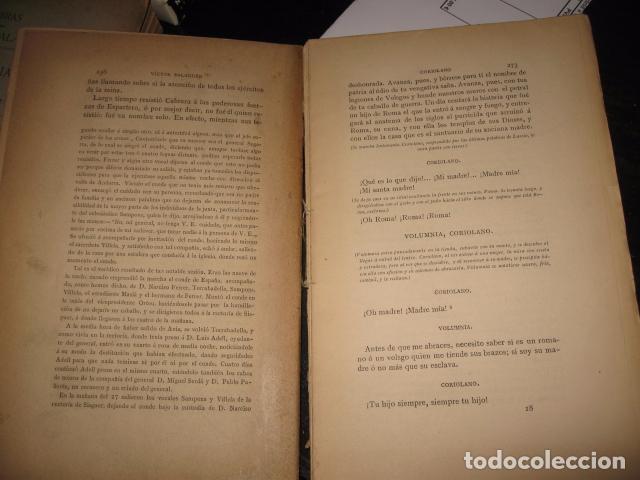 Libros antiguos: Faltan 8 hojas pag. 257 a 272 - Foto 5 - 62531624