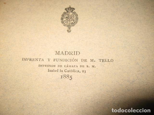 Libros antiguos: Historia de Cataluña 11 tomos Victor Balaguer 1885 - 1887 - Imprenta y fundicion M. Tello Madrid - Foto 6 - 62531624