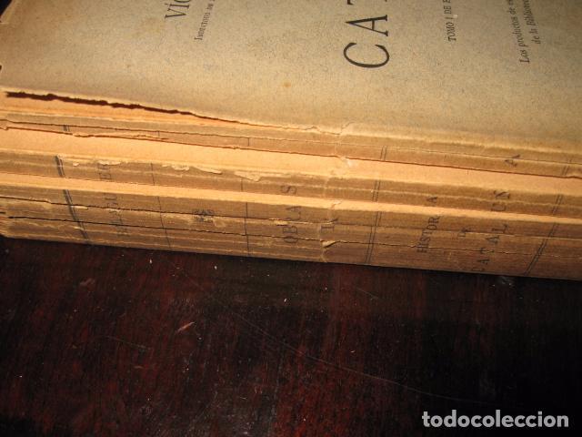 Libros antiguos: Historia de Cataluña 11 tomos Victor Balaguer 1885 - 1887 - Imprenta y fundicion M. Tello Madrid - Foto 10 - 62531624