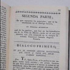 Libros antiguos: LAS COLONIAS GEMELAS REINTEGRADAS,ALEJANDRO DEL BARCO.. Lote 60611619
