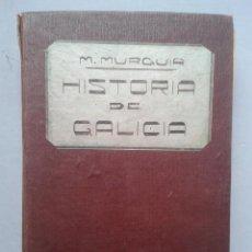 Libros antiguos: HISTORIA DE GALICIA. MANUEL MURGUÍA. AÑO 1906. TOMO I.. Lote 64354291