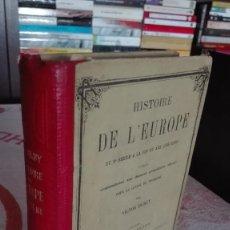 Alte Bücher - LIBRO ANTIGUO ILUSTRADO - INVASIONES BARBARAS - EDAD MEDIA - CIVILIZACION ARABE – CRUZADAS-1877 - 64844843