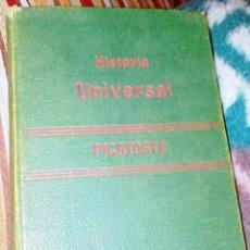 Libros antiguos: FELIPE PICATOSTE. COMPENDIO DE HISTORIA UNIVERSAL. AÑO 1890. Lote 66936143
