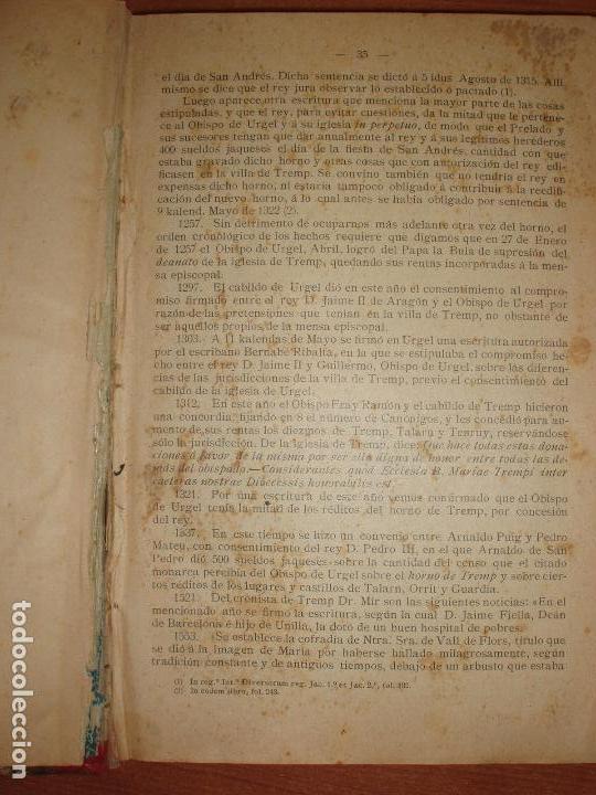 Libros antiguos: MUY ANTIGUO LIBRO DE SORT Y COMARCA NOGUERA PALLARESA. POR AGUSTIN COY. - Foto 2 - 66941482