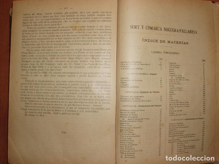 Libros antiguos: MUY ANTIGUO LIBRO DE SORT Y COMARCA NOGUERA PALLARESA. POR AGUSTIN COY. - Foto 3 - 66941482