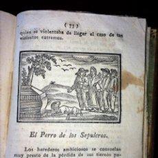 Libros antiguos: HISTORIA DE LOS PERROS. CIRCA 1812. ESPAÑA. Lote 67853553