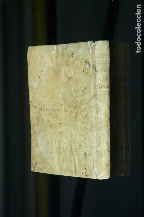 COMPENDIO DE LAS ANTIGÜEDADES ROMANAS - TRADUCIDAS POR D. FRANCISCO PÉREZ PASTOR - MADRID 1771 (Libros antiguos (hasta 1936), raros y curiosos - Historia Antigua)