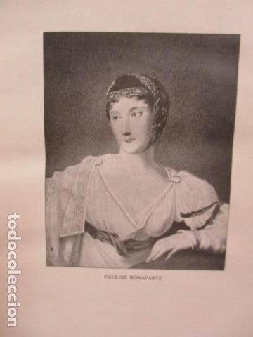 Libros antiguos: PAULINE BONAPARTE - HENRI DALMERAS (en Holandes) 1918 - Preciosos grabados . Ver fotos - Foto 7 - 67982369