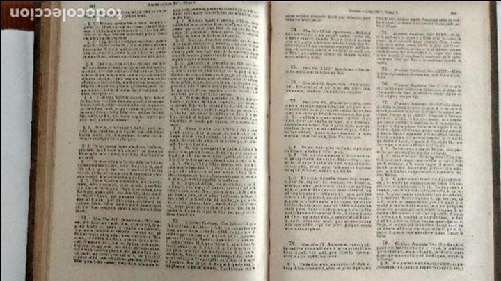 Libros antiguos: EL DIGESTO DEL EMPERADOR JUSTINIANO EN CASTELLANO Y LATÍN. PUBLICADO POR B. A. RODRÍGUEZ FONSECA. - Foto 3 - 68141573