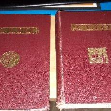 Libros antiguos: LOTE DE LOS 2 TOMOS DE CLIO DE R.BALLESTER 5ª EDICION 1933 BUEN ESTADO. Lote 68394733