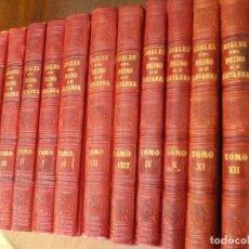 Libros antiguos: ANALES DEL REINO DE NAVARRA. 12 TOMOS. COMPLETA. JOSÉ DE MORET. EDITORIAL EUSEBIO LÓPEZ. TOLOSA 1890. Lote 68614149