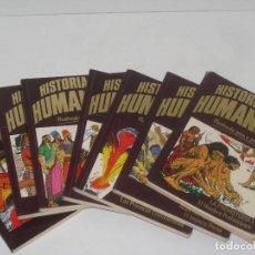 Libros antiguos: HISTORIA DE LA HUMANIDAD ILUSTRADO PASA A PASO. Lote 70141201
