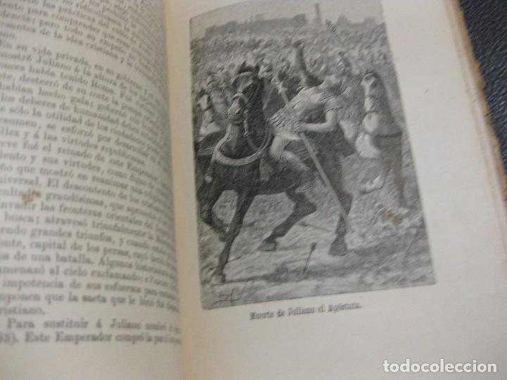 Libros antiguos: historia de roma . Roque Galvez . calleja , timbre comite republicano margalef 1894 . 38 grabados - Foto 5 - 70359529