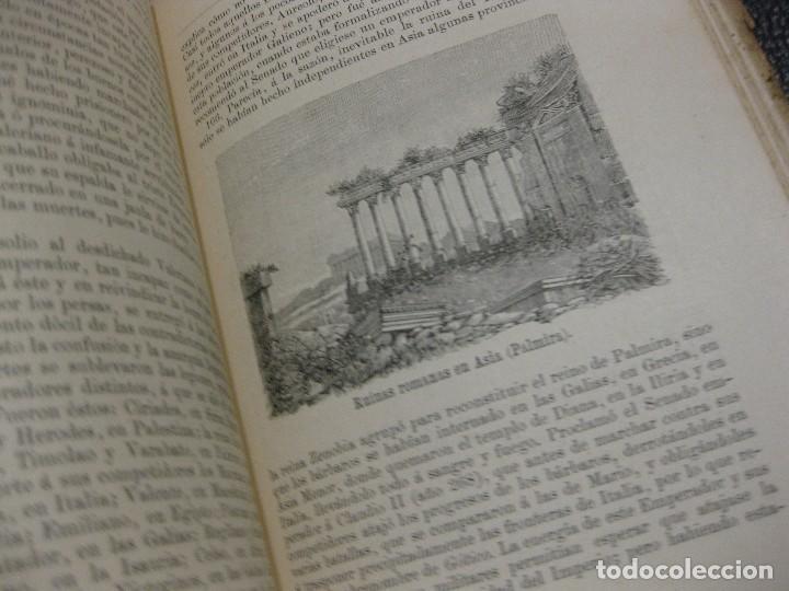 Libros antiguos: historia de roma . Roque Galvez . calleja , timbre comite republicano margalef 1894 . 38 grabados - Foto 6 - 70359529
