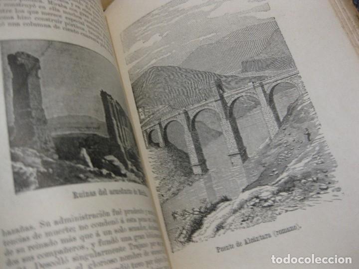 Libros antiguos: historia de roma . Roque Galvez . calleja , timbre comite republicano margalef 1894 . 38 grabados - Foto 7 - 70359529
