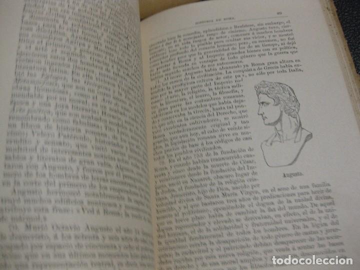 Libros antiguos: historia de roma . Roque Galvez . calleja , timbre comite republicano margalef 1894 . 38 grabados - Foto 8 - 70359529